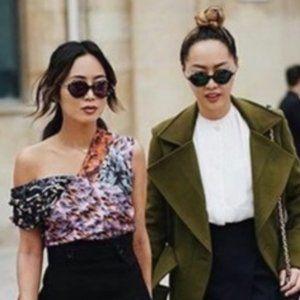 Christian Dior UMBRAGE 52mm Havana Blue Sunglasses